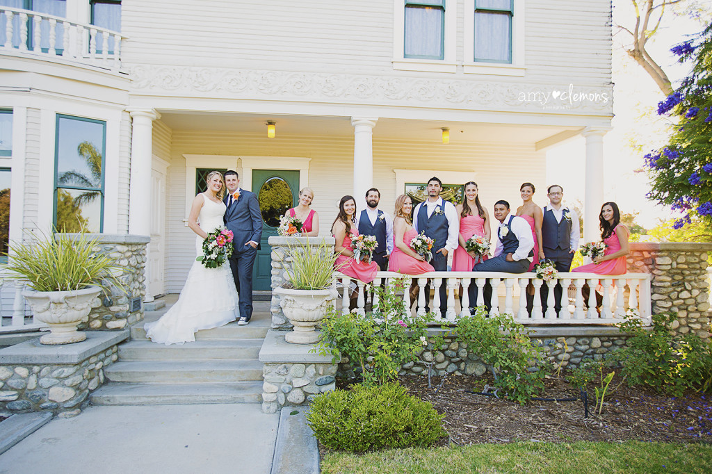 Amy Clemons Photography | Southern CA Wedding Photographer | Heritage Museum Santa Ana