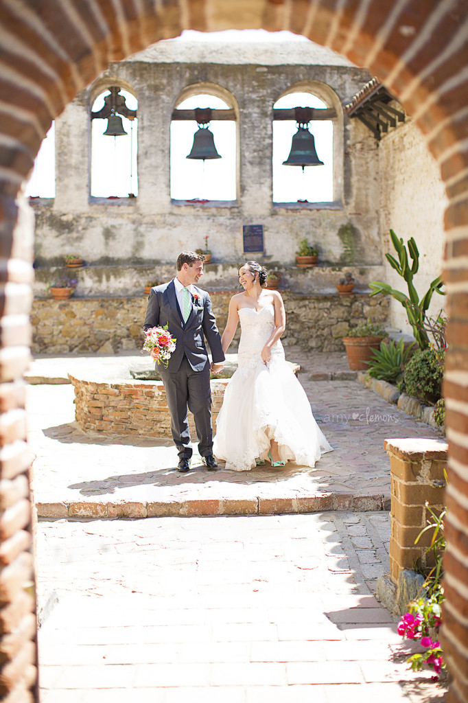 Amy Clemons Photography | Southern CA Wedding Photographer San Juan Capistrano Mission