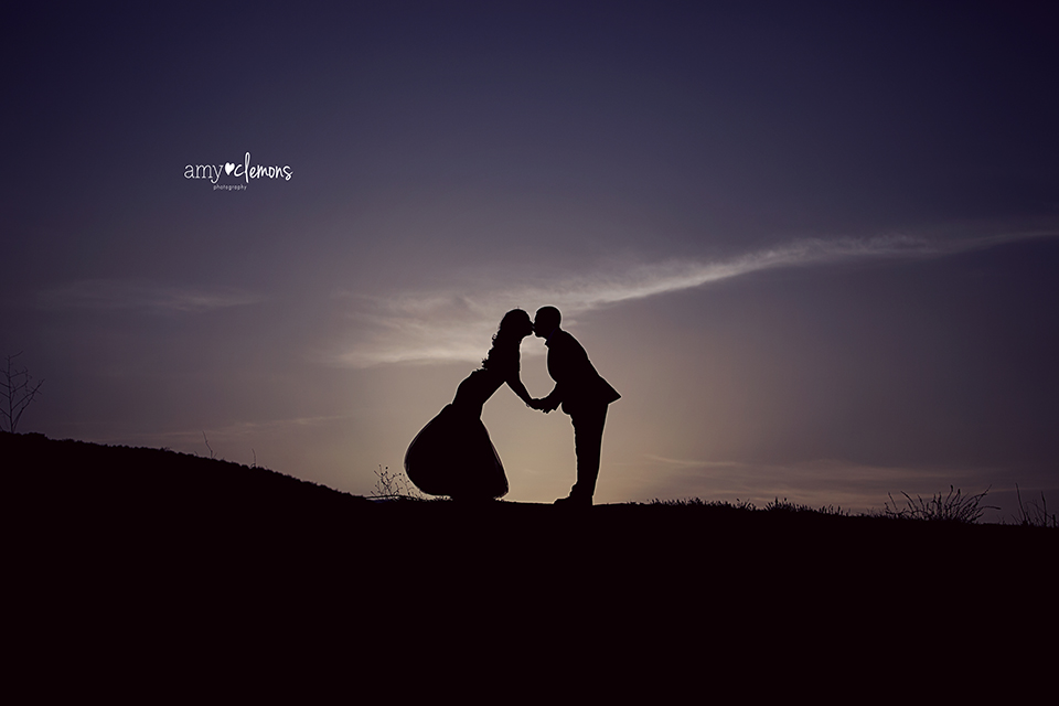 Amy Clemons Photography | Orange County, CA Engagement Photographer | Photography Silhouette