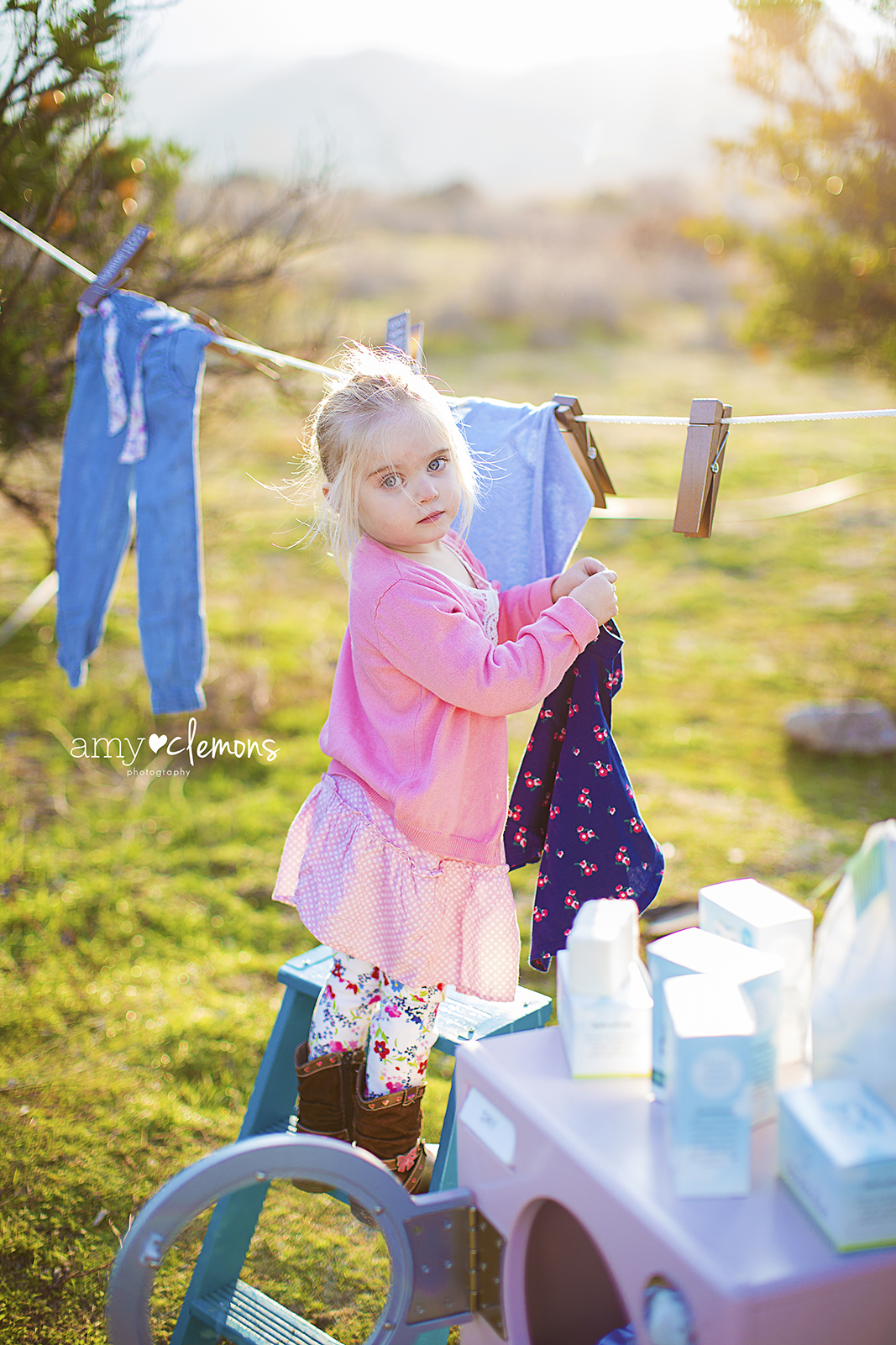 Amy Clemons Photography | Southern CA Photographer | B&N Laundry