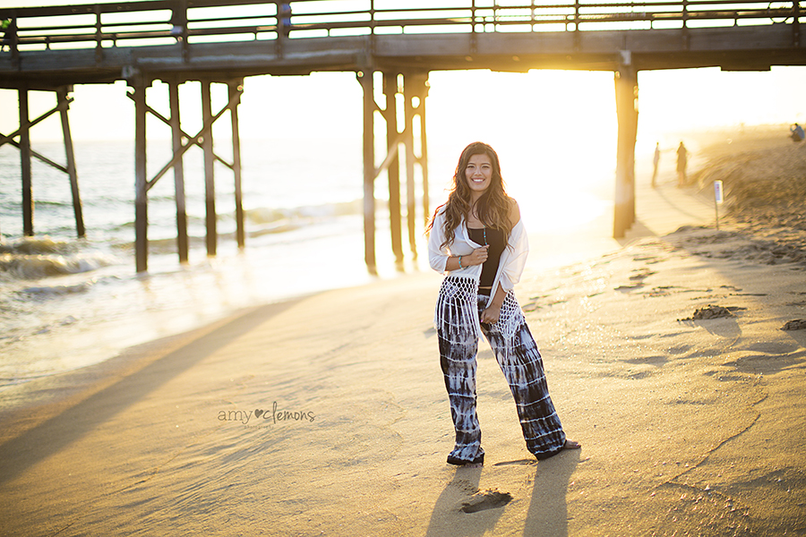 Newport Beach Senior Session | Amy Clemons Photography
