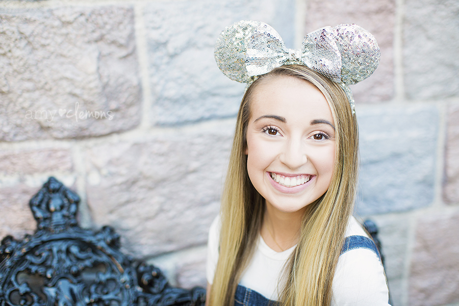 Disneyland Senior Session | Amy Clemons Photography