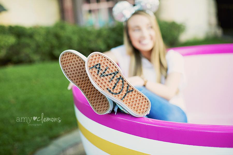 Disneyland Senior Session | Amy Clemons Photography